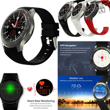 Android 5.1 IOS 8GB BT Google Voice GPS SIM Camera Heart Rate 3G WIFI Internet surf Smart Watch