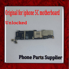 16G Unlocked Mainboard For iphone 5C Motherboard with Chips,100% Full Completely Original,Good Working Free Shipping(China)