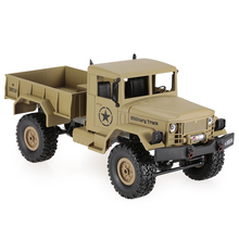 HENG LONG 3853A 1/16 2.4G 4WD Off-Road RC Military Truck Rock Crawler Army Car(China)