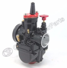 PWK PWK28 28 28mm  Carb Carburetor For Keihin Koso OKO ATV Dirt Pit Bike Go Kart Buggy Quad Black Red