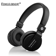 EDWO 202A Wireless Bluetooth Headphone Bass Stereo Headset With Mic Noise Cancelling Music FM Radio For iPhone Samsung Xiaomi PC