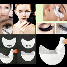 High Quality 100pcs/lot Paper Patches Eyelash Under Eye Pads Lash Eyelash Extension Eye Tips Sticker Wraps Make Up Beauty Tools