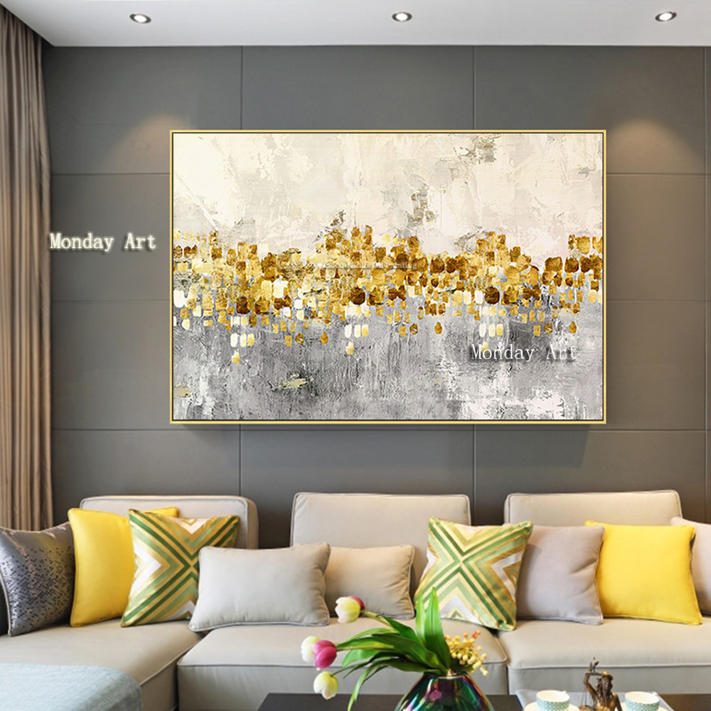 Canvas-painting-acrylic-gold-art-modern-abstract-painting-quadro-cuadros-decoracion-Wall-art-Pictures-for-living (1)