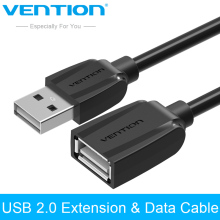 Vention USB 2.0 Male to Female USB Cable 3FT Extended Extension Cable Cord Extender 0.5m 1m 1.5m 2m 3m for Laptop Computer PC(China)