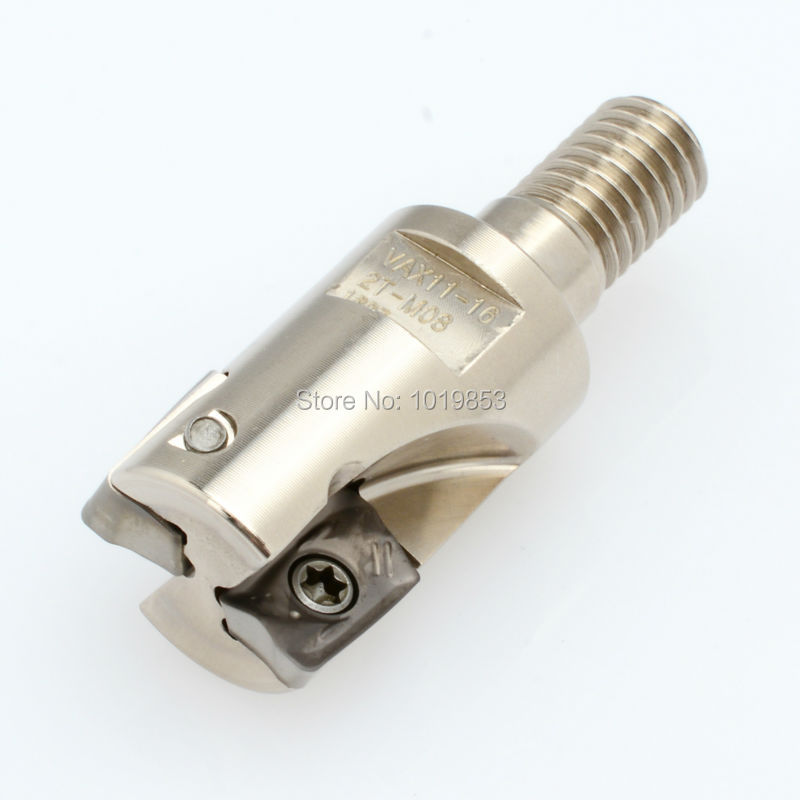 R390-11-16-2T-M8 for R390-11T3** carbide inserts modular type Indexable end mill<br>