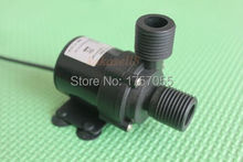 DC 12V 24V Hot Water Circulation Pump solar Water Pump Brushless Motor 5.5M lift free shipping