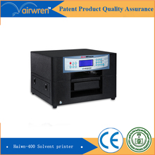 CE approval  a4 solvent  inkjet printer flat printing machine price in china