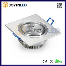 Wholesale  3W 6W 9W High power led downlights Warm/cold white AC85-265V LED ceiling lamps