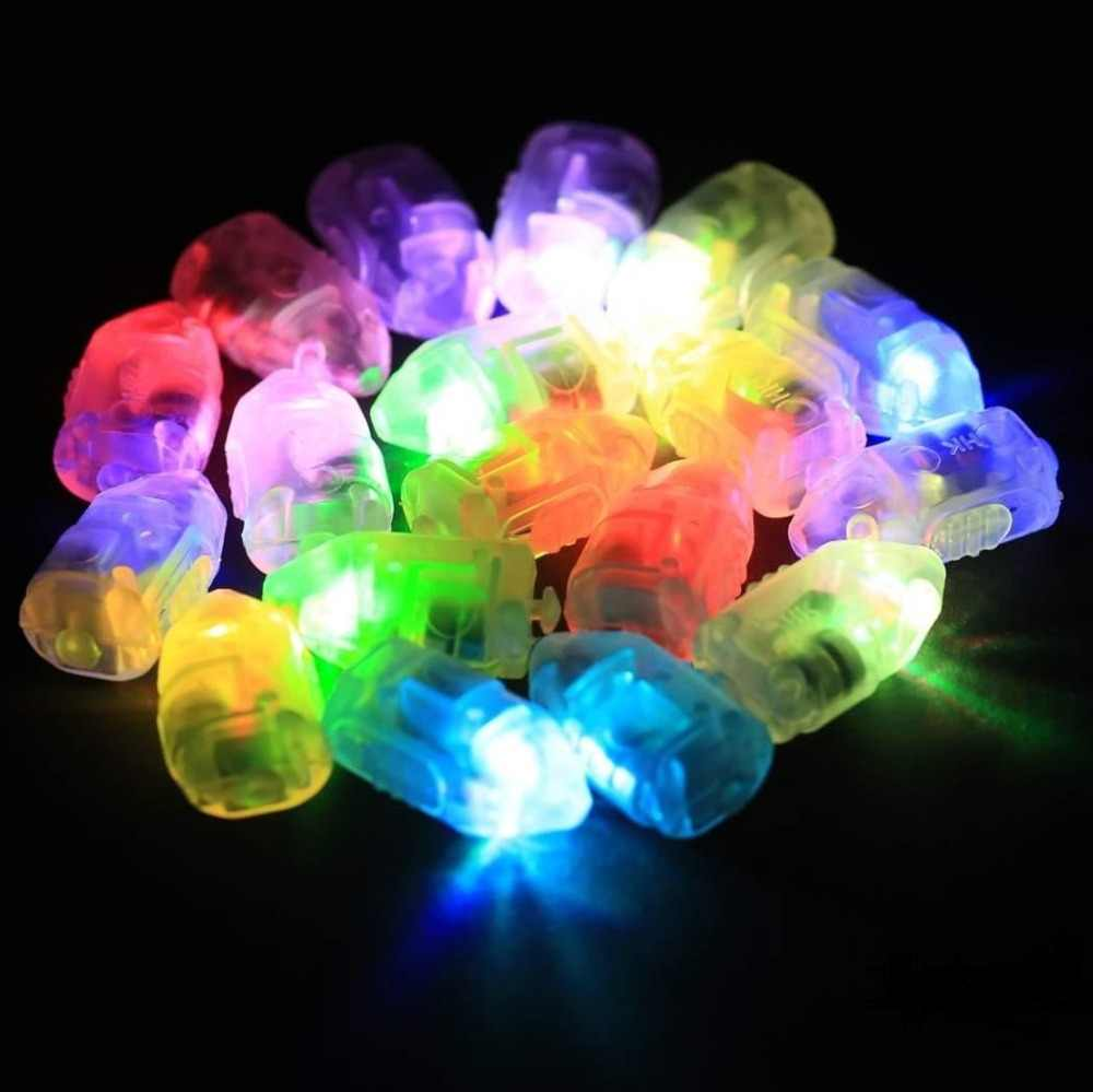 50Pcs Mini LED Light Bulbs LED Lamps Balloon Lights for Party Decorations Holiday Light for Wedding Home Garden Decoration