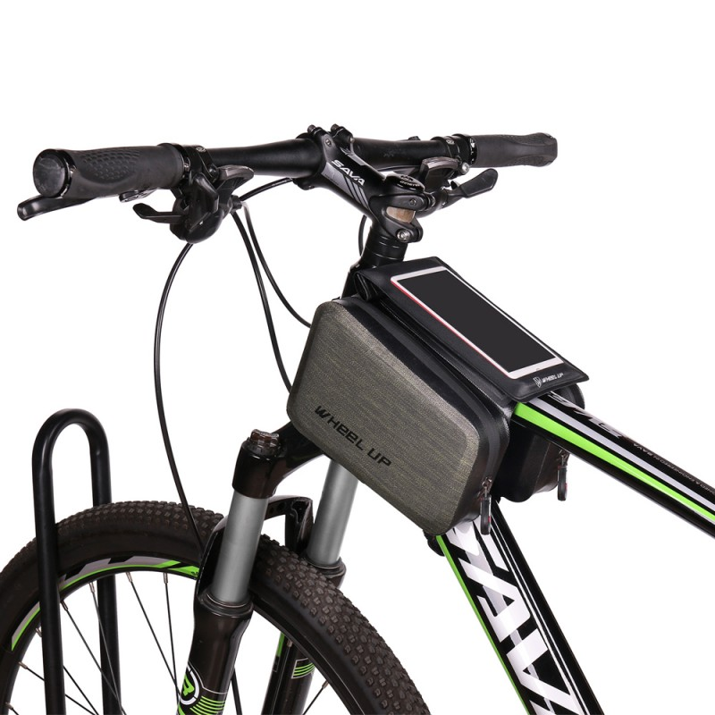 WHEEL UP Waterproof Front Touch Cycling Top Tube Frame Handlebar Bag cycling equipment