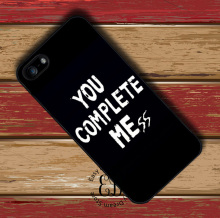 You Complete Mess Me 5SOS case for iphone X 4s 5 5s SE 5c 6 6s 7 8 plus Samsung s3 s4 s5 mini s6 s7 s8 edge plus Note 3 4 5 8(China)