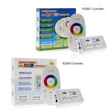 2.4G RGB /RGBW LED Controller 3Channels 18A DC12-24V Touch Screen Remote Control for RGB /RGBW LED Strip