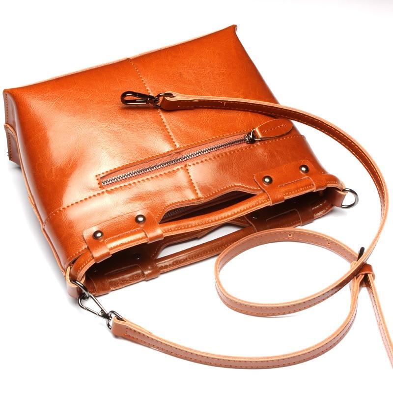 2016 Fashion Women Genuine Leather Shoulder Bag Casual Messenger Bags Female Korean Cross Body Bag Ladies Small Sling Bag Totes<br><br>Aliexpress