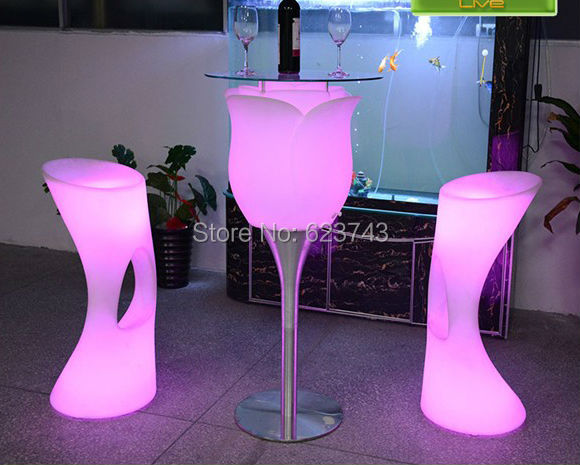 LED Big Rose Floor Lamp-slong light (3)
