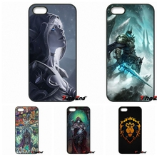 Wows World Of Warcrafts Horde Lich King Medivh Case For Xiaomi Redmi Note 2 3 3S 4 Pro Mi3 Mi4i Mi4C Mi5S MAX iPod Touch 4 5 6
