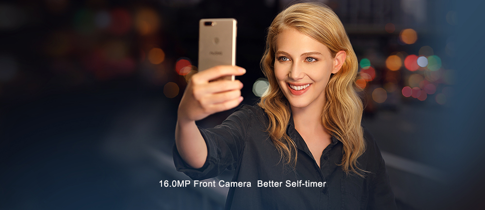 16.0MP front camera