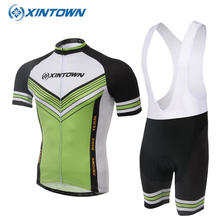 2017 Summer Cycling Jersey Short Sleeve Quick Dry MTB Bike Bicycle Breathable Clothing Ropa Ciclismo Green - Store store