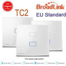 Broadlink TC2 EU Standard 1 2 3 gang Optional,mobile Remote light lamps wall Switch via broadlink rm pro,smart home domotica(China)