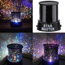 Lightinbox Star Sky Projector LED Star Beauty Night Light Sky color lampe Projector Lighting