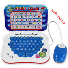 2017 hot sale Learning Machine with mouse Computer Learning Education Machine Tablet Toy Gift For Kid convenient to use(China)