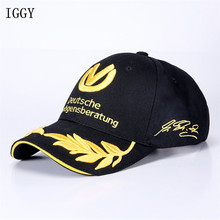 2017 Outdoor Men F1 Racing Cap Cotton Male Sports Motorcycle Racing Baseball Caps Car Sun Hats Red Black Bone Man and Woman
