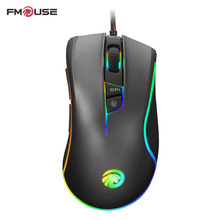 Original FMOUSE F300 E-Sports Version Programmable Mouse 4000 DPI Wired Optical Gaming Mouse Gamer For Pro Gamer(China)