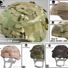 EMERSON Helmet Accessories MICH Helmet Cover For:MICH 2000Safety & S AT-FG Multicam CB BLACK OD ACU MCBK MCTP MCAD ACU AT HLD MR(China)