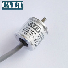 CALT GHS25 mini digital optical rotary encoder cheap solid shaft npn output incremental angle encoder free shipping(China)
