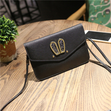 Korean version of the new rabbit ear phone bag cute change big screen mobile phone creative mini bag single shoulder Messenger b
