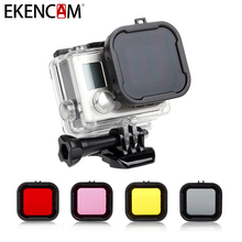 Buy EKENCAM Diving Filter EKEN H9 GoPro Hero 4 Xiaomi Yi 4K Camera EKEN H5S+ H6S H7S H8S H8R Diving Filter Camera Accessories for $4.58 in AliExpress store