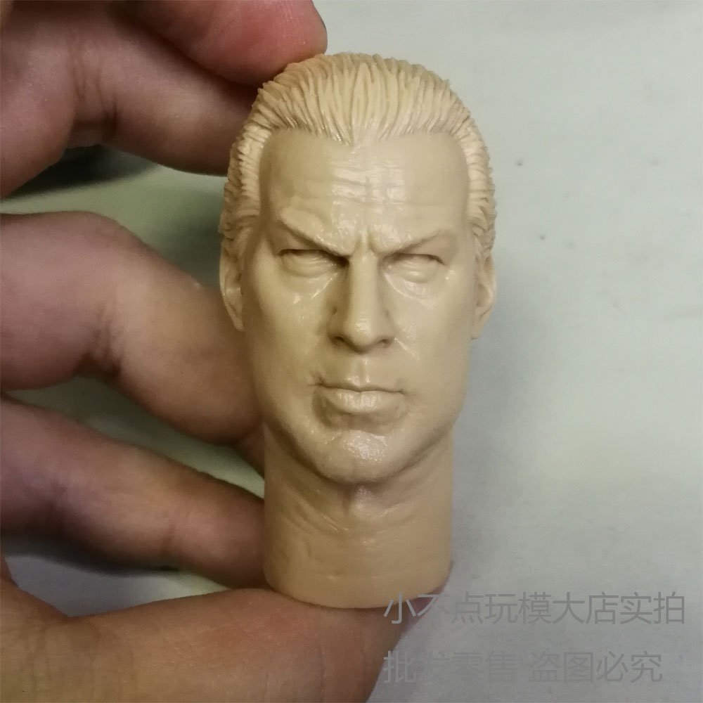 """Blank 1//6 Scale The Ancient Barbarian Vikings Head Sculpt Unpainted Fit 12/"""" Body"""