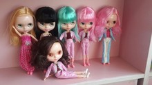Free shipping cost Cheap Blyth doll for DIY change girl plastic doll factory doll random