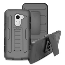 Heavy Duty Hybrid Armor Case Shockproof Belt Clip Holster Cover For Alcatel TMOBILE REVVL / A30 Fierce 2017 / Walters / A30 Plus(China)