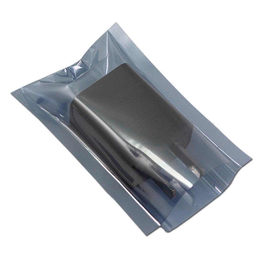 1000Pcs/Lot 6*8cm Anti Static Shielding Plastic Packaging Bag Heat Seal ESD Anti-Static Open Top Antistatic Package Bags 1