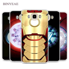BINYEAE Iron Man Chest Pacemaker Plate Cell Phone Case Cover for Samsung Galaxy J1 J2 J3 J5 J7 C5 C7 C9 E5 E7 2016 2017 Prime(China)
