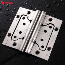 Sakura SUS304# stainless steel hinges 2 piece ball bearing mute really free open trough mother hinge(China)