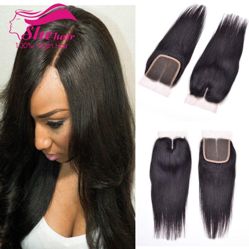Top Lace Closure 8A Peruvian Virgin Hair Straight 1PC/Lot Peruvian Straight Virgin Hair Closure 8-24 Cheap Human Hair Closure<br><br>Aliexpress
