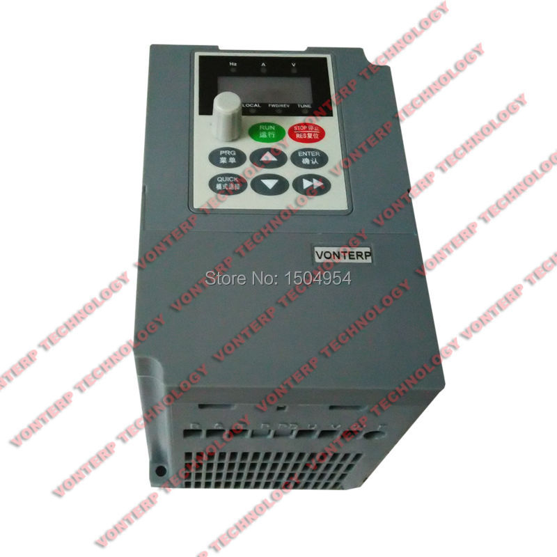mini size AC drive, frequency inverter converter 50Hz to 60Hz 1.5KW 220V Single phase input and 220v 3 phase output<br><br>Aliexpress