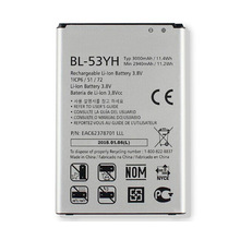 Original Cell Phone Battery BL-53YH For LG Optimus G3 D855 D853 VS985 D830 D850 D851 D858 F400 F400L F400S F400S