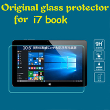 "Tempered Glass film for Cube I7 book Tablet 10.6"" Anti-shatter front mix plus Screen protector Protective HD films"