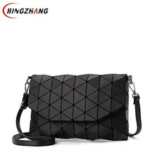 Buy 2018 new small solid plaid geometric lingge envelope handbag women clutch ladies purse crossbody messenger shoulder bags L4-3253 for $11.05 in AliExpress store