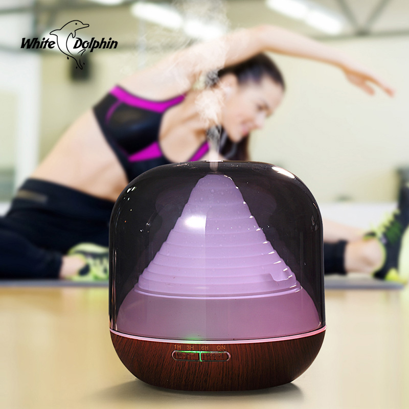 Home Appliances Aromtherapy Aroma Essential Oil Diffuser Air Humidifier LED Light Mist Maker Fogger Ultrasonic Humidifier<br>
