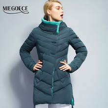 MIEGOFCE 2016 New Winter Collection Winter Women Coat Jacket Warm High Quality Woman Down Parka Winter Coat(China)