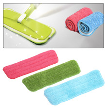 1PC Microfiber Mop Pad Replacement Mop Head for Water Spray Mop Household Floor Cleaning Tool Random Color(China)