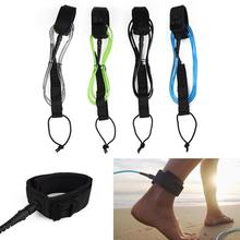 Surfboard Leash TPU Surfing Paddle Board Straight Foot Rope Strap 6ft 5.5mm