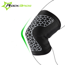 ROCKBROS Sports Knee Pads Breathable Volleyball Training Basketball Football Cycling Knee Protector Ciclismo Knee Support Brace