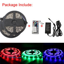 10M/32.8ft Color Changing RGB 5050 SMD Waterproof 300 LEDs Lighting Rope Lights 30LEDs/M Flexible Strip Light Kit + Two Outputs(China)
