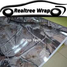 Camo Wraps Graphics Realtree Real Tree Camouflage Vinyl Wrap Motorcycle Car Self Adhesive Film Sticker Decal Matte/Glossy Finish