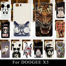 For DOOGEE X5 X5Pro Soft Silicone tpu Plastic Mobile Phone Cover Case DIY Color Paitn Painting Cellphone Bag Shell
