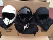 Ghost Rider motorcycle helmet Original authentic Thompson retro off-road motorcycle helmet BELL MOTO3 small helmet body(China)